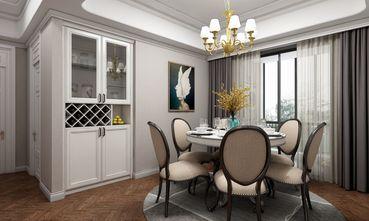 70平米新古典风格餐厅图