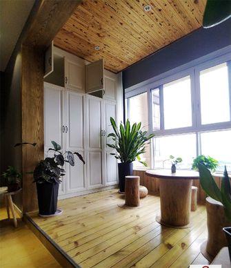 110平米三室一厅混搭风格阳台效果图