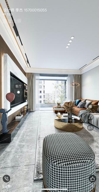 15-20万110平米三室两厅港式风格走廊图片