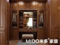 130平米三中式风格梳妆台图片