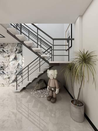 20万以上140平米现代简约风格楼梯间图片