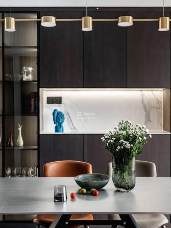 富裕型140平米四现代简约风格餐厅效果图