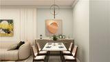 3-5万60平米一室一厅北欧风格餐厅效果图