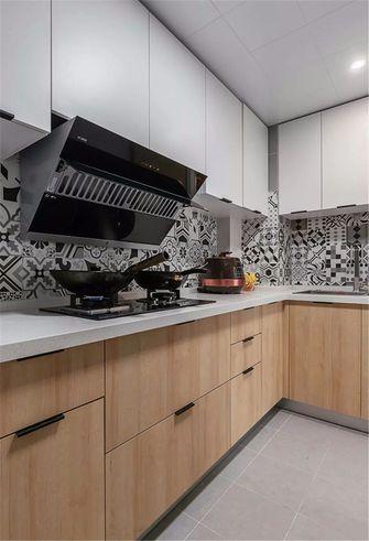 富裕型90平米北欧风格厨房装修图片大全
