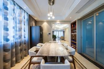 120平米三港式风格餐厅设计图