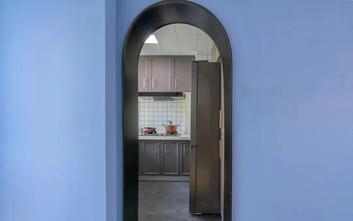 富裕型90平米现代简约风格厨房设计图