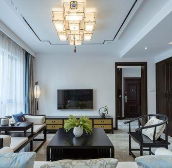 富裕型120平米三室三厅中式风格客厅装修案例