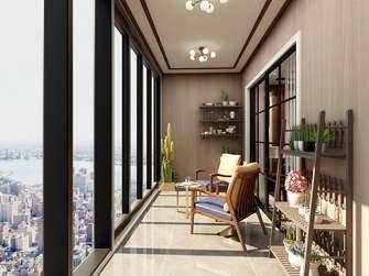 20万以上140平米四室两厅中式风格阳台效果图