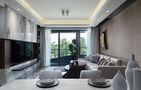 富裕型120平米三室一厅中式风格客厅装修案例