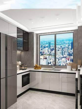 富裕型130平米三室两厅轻奢风格厨房装修案例