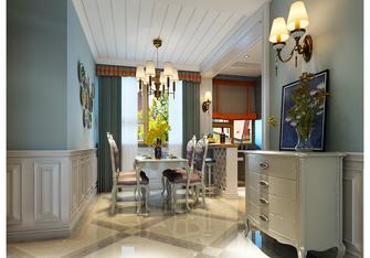 富裕型140平米三室两厅新古典风格餐厅图片