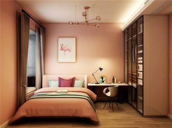 富裕型120平米三室两厅现代简约风格青少年房图片