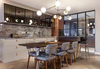 5-10万100平米三室两厅法式风格餐厅图片大全