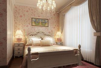 120平米三室两厅新古典风格卧室图片大全