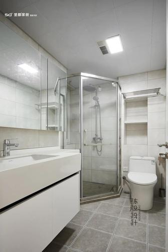 140平米三室三厅日式风格卫生间设计图