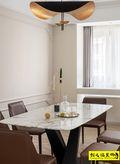 10-15万120平米三室两厅混搭风格餐厅欣赏图