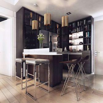 富裕型80平米现代简约风格餐厅装修案例