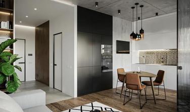 经济型40平米小户型工业风风格客厅装修案例