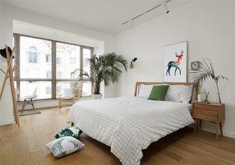 富裕型60平米复式北欧风格卧室图