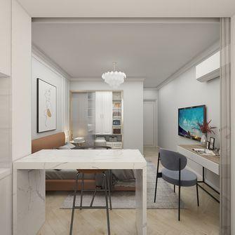 10-15万40平米小户型现代简约风格卧室图片