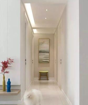 富裕型90平米三室两厅北欧风格走廊设计图