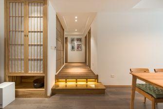 富裕型130平米三室两厅日式风格走廊图片大全