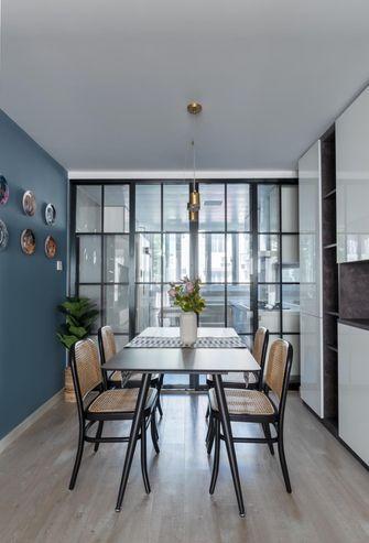 5-10万80平米现代简约风格餐厅设计图