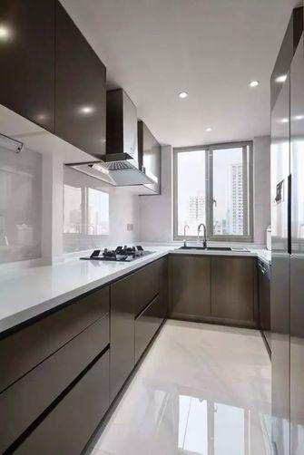 豪华型140平米复式现代简约风格厨房装修图片大全