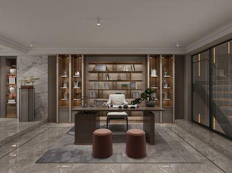 豪华型140平米别墅轻奢风格书房图片