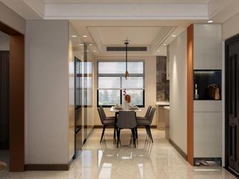 经济型90平米三室一厅轻奢风格餐厅图片大全