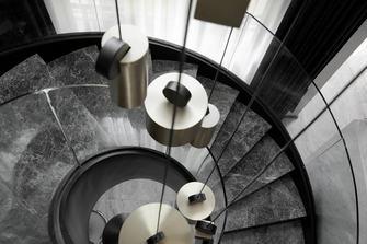 20万以上140平米别墅现代简约风格楼梯间设计图