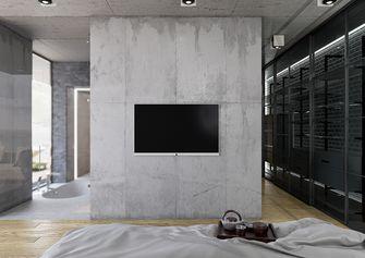 10-15万120平米三室两厅工业风风格玄关图