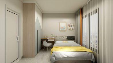 80平米三室两厅北欧风格卧室装修图片大全
