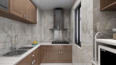 富裕型80平米中式风格厨房图