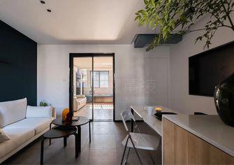 50平米现代简约风格客厅图