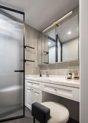 经济型100平米三室两厅法式风格卫生间设计图