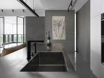 经济型120平米公寓现代简约风格厨房装修效果图
