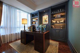 110平米三室两厅新古典风格书房效果图