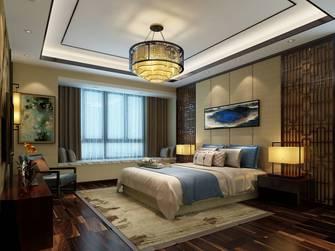 豪华型140平米四室四厅中式风格卧室装修图片大全