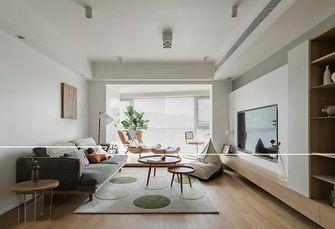 富裕型90平米三室两厅北欧风格客厅图片大全