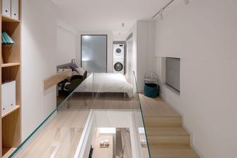 富裕型50平米小户型现代简约风格阁楼图