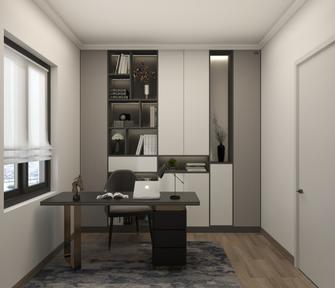 120平米四室两厅现代简约风格书房欣赏图