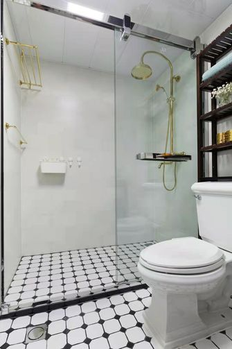 5-10万100平米三室两厅美式风格卫生间装修效果图