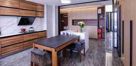 豪华型140平米四现代简约风格厨房图片大全