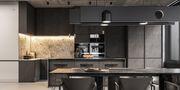70平米公寓法式风格厨房欣赏图