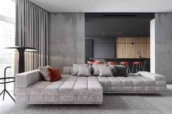 10-15万110平米三室一厅现代简约风格客厅装修图片大全