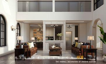 豪华型140平米别墅美式风格客厅装修案例