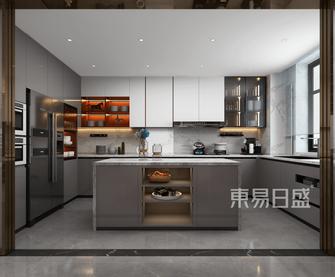 140平米四港式风格厨房设计图