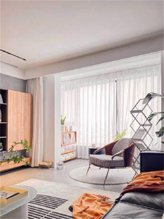 经济型60平米一室一厅混搭风格客厅装修案例