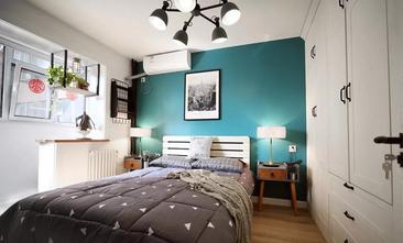 经济型60平米现代简约风格卧室图